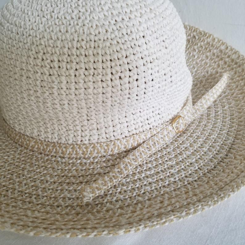 Vintage Summer Woven Straw Sun Hat