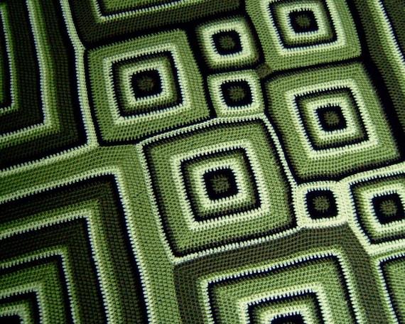 Square Deal Redux - PDF pattern for crochet afghan