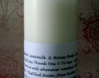 Black Licorice  Body Lotion  from Toadstool Soaps Light Creamy Goatmilk Aloe Vera Honey