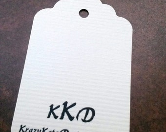 Business Tags, set of 50, personalized, Baby Shower, Personalized Tags, favor card, custom printing, printed tags