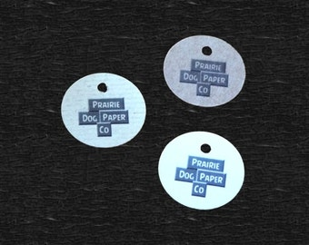 Circle Tags, Price Tags, Set of 100, Gift Tags, Jewelry Tag, Wedding Tag