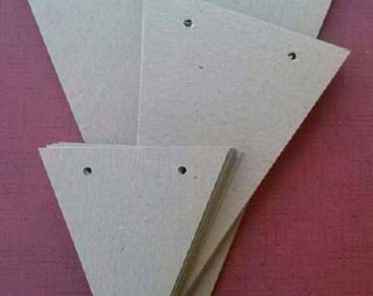 3 Size Set, Banner supply, bunting, pennant, garland supply, 16 pieces