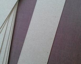 Bookmarks, Bookmark Blanks, Set of 10, Large Bookmark, DIY Bookmark