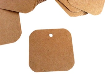Gift Tags, Product Label, Set of 50, Wedding Tag, Business Tag, Price Tag