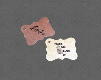 Small ornate price tags,personalized, custom printing, labels, tag set of 100, 1 3/4 x 1 1/4 jewelry tag, wedding favor, small tags