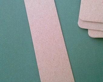 Bookmark Blanks, Bookmarks, Set of 20, Chipboard Bookmark, Thick Bookmark, Wedding Bookmark
