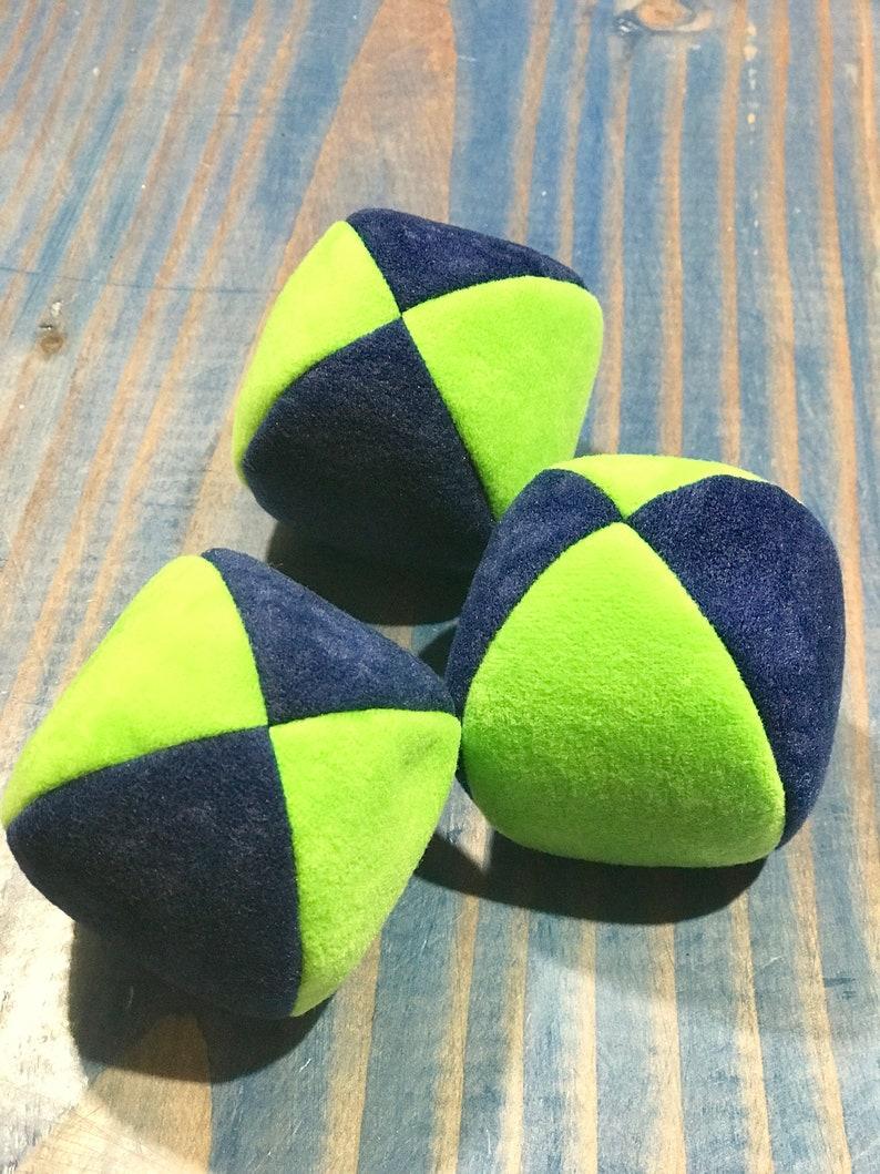 Excellent 100G 3 Soft Dark Blue And Broght Green Pj Juggling Balls No Bag Dailytribune Chair Design For Home Dailytribuneorg