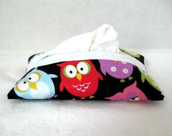 Owl Tissue Holder Pocket Tissue Cozy