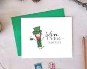 Funny St. Patrick's Day Card - Kiss Me I'm a Wee Bit Irish