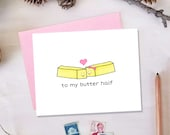 To My Butter Half Valentine's Day Card | Cute Love Card