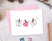 I Love You Romantic Valentine's Day Card | Cute Love Cards