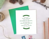 St. Patrick's Day Cards - We Are the Music Makers Quote