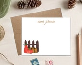 Fall Stationery - Pumpkin Patch Note Cards - Teacher Gifts
