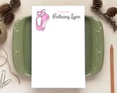 Ballet Notepad for Kids - Personalized Notepads - Gifts for Dancers - Dance Gift
