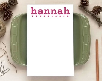 Personalized Notepad for Girls - Stationery Gifts for Teens