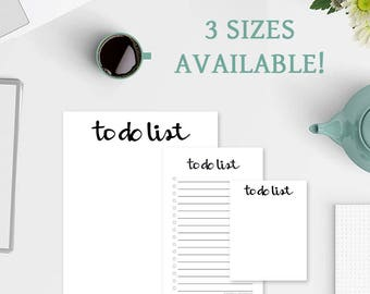 To Do List Notepad- To Do Lists - To Do List Notebook - Simple To Do List - To Do Notepad