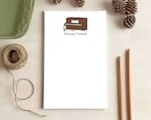 Upright Piano Notepad - Personalized Notepads - Stationery Gifts