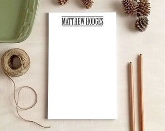 Personalized Notepad for Men - Professional Stationery Gifts for Him