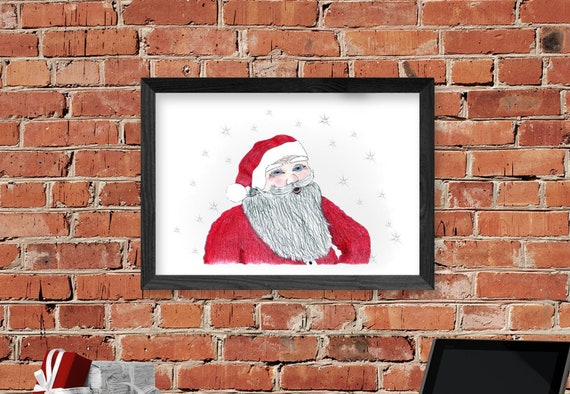 Santa Claus Wall Decorations