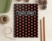 Basketball Notebook - Personalized Sports Gift for Kids