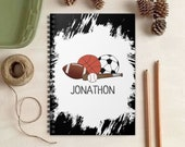 Sports Notebook - Personalized Gift for Kids