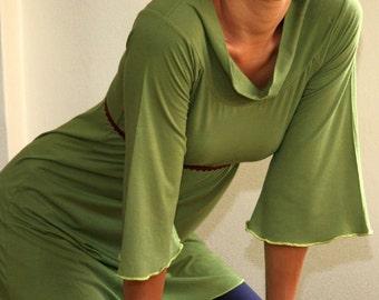 Sandmaiden bamboo and organic cotton jersey tunic top or ballerina - full size range