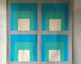 Anni, a custom quilt by Heather Jones