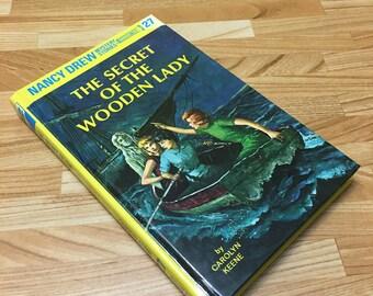 Nancy Drew Hollow Book Safe Secret of the Wooden Lady Secret Stash Storage Jewelry