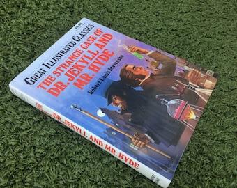 Hollow Book Safe Strange Case of Dr. Jekyll and Mr. Hyde  Secret Stash Keepsake Box Container