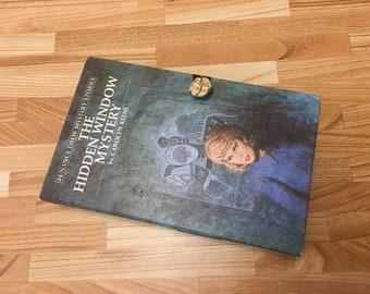 Book Purse Nancy Drew Hidden Window Mystery Clutch handbag