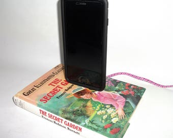 IPhone 5, 6, or 7  Charging Dock, The Secret Garden Book, Docking Charger Station