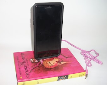 Nancy Drew The Crooked Banister IPhone 5, 6 or 7 Docking Station Dock Charger