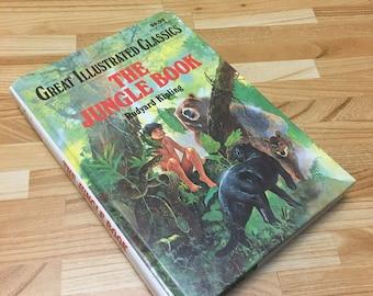 Hollow Book Safe Jungle Book Secret Stash Keepsake Box Container