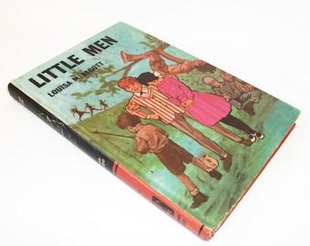Hollow Book Safe Vintage Little Men, Secret Stash Keepsake Compartment Box, Geekery Gadget Home Decor Security