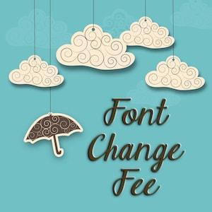 Font Change Fee For Custom Stamps