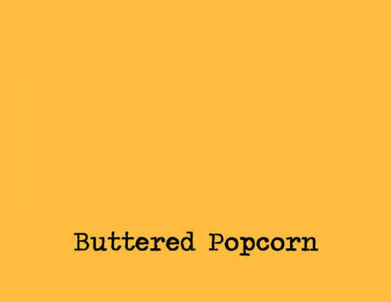 buttered popcorn yellow Ink pad for your rubber stamp waterproof /& permanent