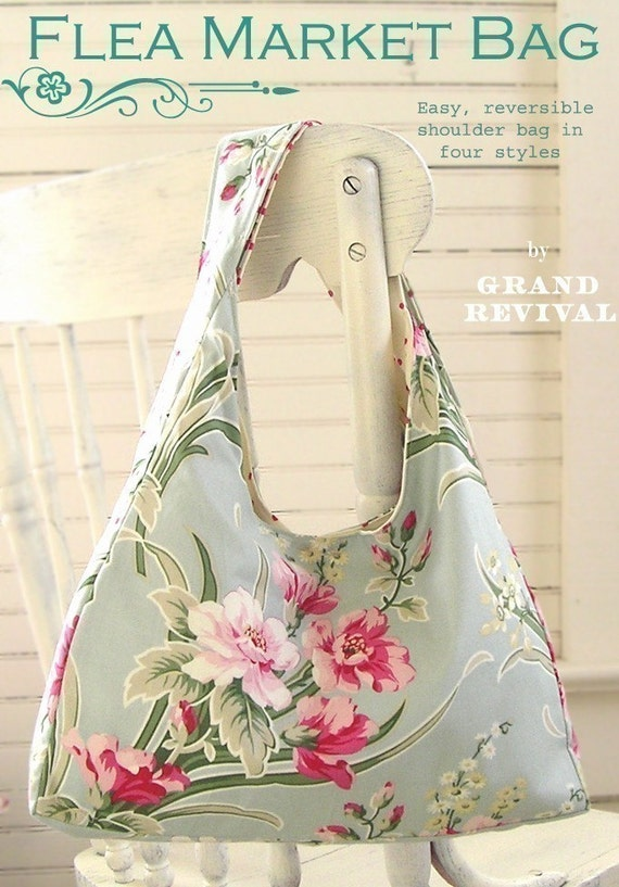 easy purse pattern for beginners Darling Reversible Shabby  b4234f85fac1c