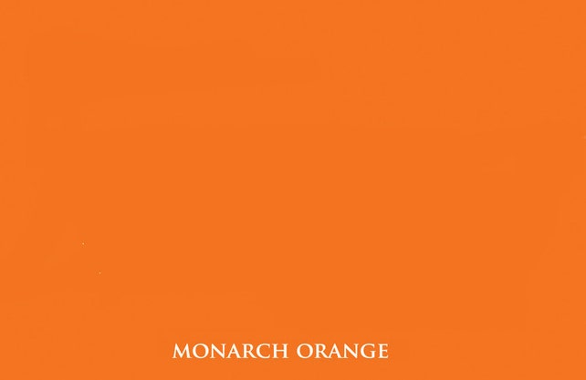 Redish Monarch Orange Ink pad for your rubber stamp waterproof & permanent