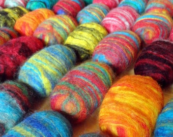 35 Felted Soap Bars Unique Gift in Bulk Wholesale Store Item