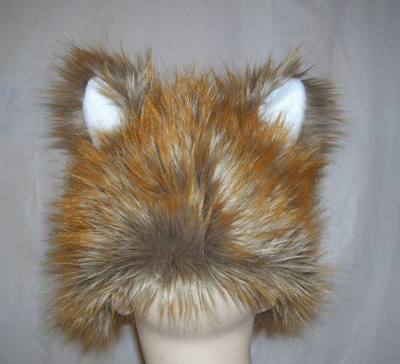 b6dd78be19f Baby Furry Fox Hat Ears n Tail Kids 2-4 yrs Fur Fox Animal