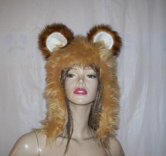 Adulto Uomo Pazzo Peloso Lupo Animali Halloween Costume Maschera Accessorio