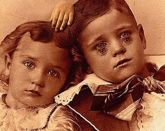 Creepy Little Child no 7...Open Edition-8x10