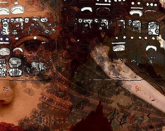 Mayan Princess - Limited Edition Print 3/25