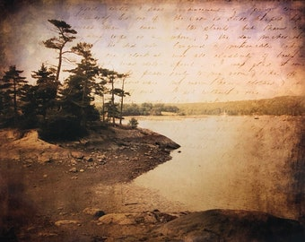 Parker Point Road Blue Hill  - Maine Coast Art — Ready to Ship In Stock Print
