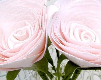 2nd Anniversary Bouquet of cotton flowers  by Cotton Bird Designs