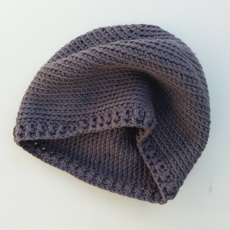 7588c13edbd Blackthorn Hat Crochet Pattern for Simple Beanie Hat for