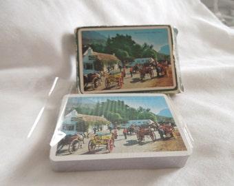 Vintage John Hinde playing cards
