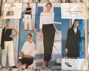 Vogue Pattern 2119 by designer Henri Bendel in sizes 8-10-12