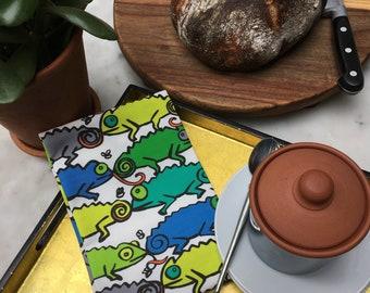 Chameleons Tea Towel