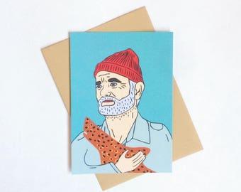 The Life Aquatic with Steve Zissou postcard, 4.1''x5.8''